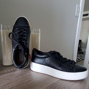 Steve Madden Black and White Sneakers